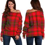 TartanClans Macdougall Modern  Women's Off Shoulder Sweater