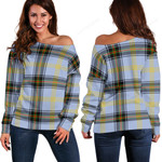 TartanClans Bell Of The Borders  Women's Off Shoulder Sweater
