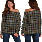 TartanClans Mackenzie Weathered  Women's Off Shoulder Sweater