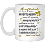 To My Husband From Wife Mug - Gifts For Husband