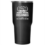 Proud Wife Of A Freaking Awesome Director Tumbler 30 oz Stainless Steel, Marry Travel Mug