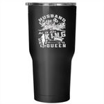 Husband And Wife Tumbler 30 oz Stainless Steel, Cute Gift For Wedding Travel Mug