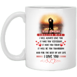To my gorgeous amazing wife I love you Mug - Gifts for wife