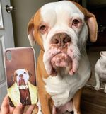 The Young King - Custom Pet Phone Case