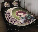 Demon Slayer Bed Set Cute Kamado Tanjirou Anime Gift For Fans