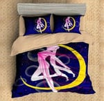 Sailor Moon Bed Set Dreamy Usagi Bedding Anime Gift For Fans