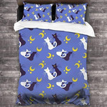 Sailor Moon Bed Set Romantic Diana And Luna Bedding Anime Gift For Fans