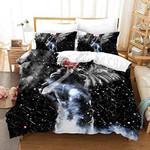Tokyo Ghoul Bed Set Black Galaxy Kaneki Ken Bedding Anime Gift For Fans