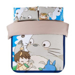 My Neighbor Totoro Bed Set Ghibli Bedding Anime Gift For Fans