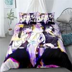 Demon Slayer Bed Set Romantic Kimetsu No Yaiba Anime Gift For Fans