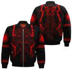 Sukuna Rib Bomber Jacket Uniform Jujutsu Kaisen Anime Hoodie