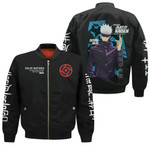 Satoru Gojo Bomber Jacket Uniform Jujutsu Kaisen Anime Clothes