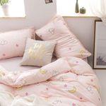 Sailor Moon Bed Set Pink Usagi Bedding Anime Gift For Fans