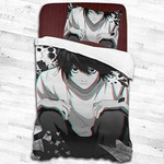 Death Note Bed Set Lawliet Bedding Anime Gift For Fans