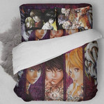 Death Note Bed Set New Version Kira Bedding Anime Gift For Fans