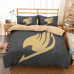 Fairy Tail Bed Set Beige Fairy Tail Bedding Anime Gift For Fans