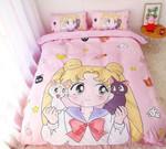 Sailor Moon Bed Set So Cute Usagi Bedding Anime Gift For Fans