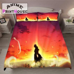Fairy Tail Bed Set Shine Natsu Bedding Anime Gift For Fans