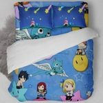 Fairy Tail Bed Set Lovely Happy Bedding Anime Gift For Fans