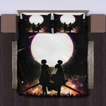Attack On Titan Bed Set Sweet Night Between Levi and Mikasa Anime Gift For Fans