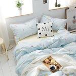 Sailor Moon Bed Set Blue Usagi Bedding Anime Gift For Fans