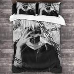 Tokyo Ghoul Bed Set Black Kaneki Ken Bedding Anime Gift For Fans