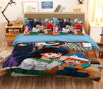 Inuyasha Bed Set Kagome And Shippo Bedding Anime Gift For Fans