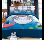 My Neighbor Totoro Bed Set Totoro And Chu Totoro Bedding Anime Gift For Fans