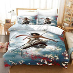 Attack On Titan Bed Set Beautiful Mikasa Anime Gift For Fans