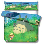 My Neighbor Totoro Bed Set Mei And Totoro Bedding Anime Gift For Fans