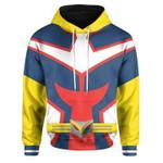 My Hero Academia Hoodie All Might Anime Custom Sweatshirts