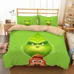 3D Customize The Grinch Bedding Set Duvet Cover Set Bedroom Set Bedlinen EXR3791 , Comforter Set