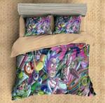 Rick And Morty #9 3D Personalized Customized Bedding Sets Duvet Cover Bedroom Sets Bedset Bedlinen , Comforter Set