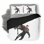 Avengers Endgame Thor #2 3D Personalized Customized Bedding Sets Duvet Cover Bedroom Sets Bedset Bedlinen , Comforter Set