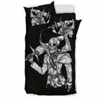 Skull Warriorfor Lovers ofkulls3D Customize Bedding Set Duvet Cover SetBedroom Set Bedlinen , Comforter Set