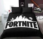 Black Fortnite Gamer  3D Customized Bedding Sets Duvet Cover Bedlinen Bed Set , Comforter Set