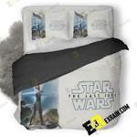 Rey Star Wars The Last Jedi Artwork Up 3D Customize Bedding Sets Duvet Cover Bedroom set Bedset Bedlinen , Comforter Set