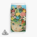 The Language Of Flowers By Raul Guerra 3D Personalized Customized Duvet Cover Bedding Sets Bedset Bedroom Set , Comforter Set
