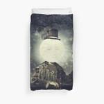 Full Moon 3D Personalized Customized Duvet Cover Bedding Sets Bedset Bedroom Set , Comforter Set