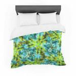"Michaelussna ""Pollenesia"" Teal Green Featherweight3D Customize Bedding Set/ Duvet Cover Set/  Bedroom Set/ Bedlinen , Comforter Set"