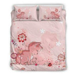3D Customize Lovely Pink Cat And The Lady Bug Bedding Set Duvet Cover EXR295 , Comforter Set