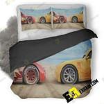 Cars 3 On 3D Customize Bedding Sets Duvet Cover Bedroom set Bedset Bedlinen , Comforter Set