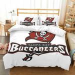3D Customize Tampa Bay Buccaneers Bedding Set Duvet Cover Set Bedroom Set Bedlinen EXR3691 , Comforter Set