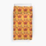 Cute Orange Monster Is Funny Too 3D Personalized Customized Duvet Cover Bedding Sets Bedset Bedroom Set , Comforter Set