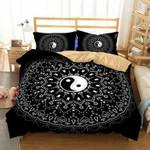 Mandala Yin Yang 3D Customize Bedding Set/ Duvet Cover Set/  Bedroom Set/ Bedlinen , Comforter Set