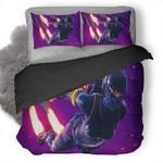 Elite Agent Skydive Fortnite Battle Royale 3D Personalized Customized Bedding Sets Duvet Cover Bedroom Sets Bedset Bedlinen , Comforter Set