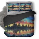 Monastery Sky 3D Personalized Customized Bedding Sets Duvet Cover Bedroom Sets Bedset Bedlinen , Comforter Set