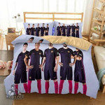 Three-dimensional bedding Spanish football bedding set / duvet cover Barcelona EXR8002 , Comforter Set