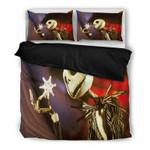 Jack Skellington Design Lovely Bedding Set-Black , Comforter Set