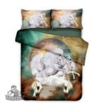 Horse Dreamcatcher Duvet Cover , Comforter Set